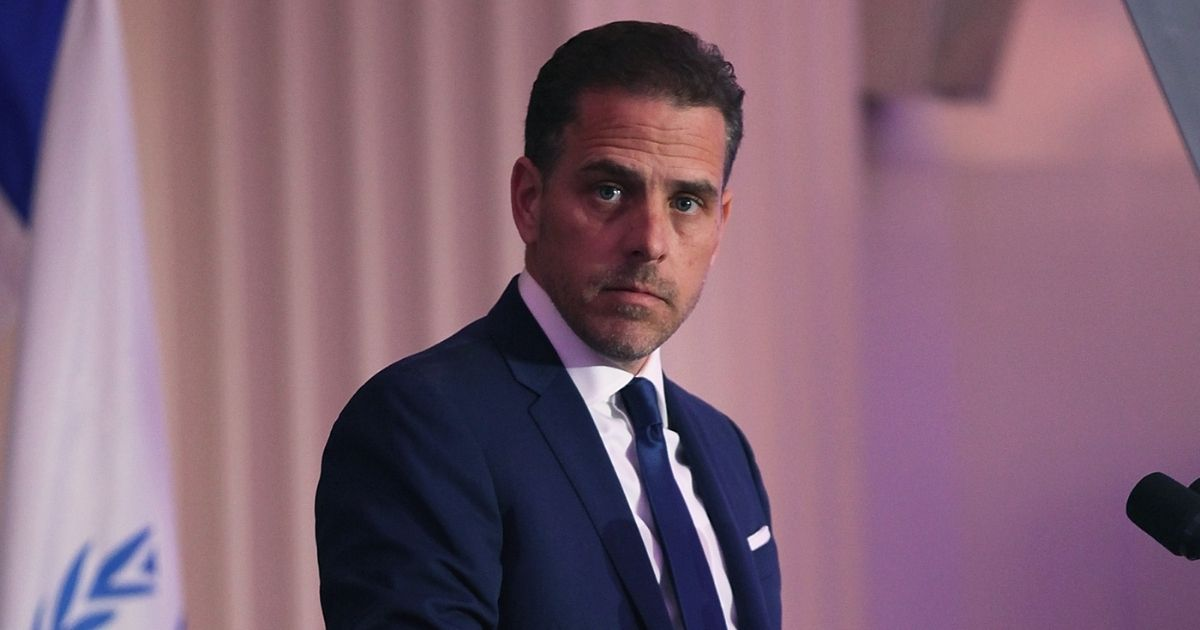 Democratic presidential nominee Joe Biden's son, Hunter, is pictured in a 2016 file photo when he was chairman of the World Food Program USA.