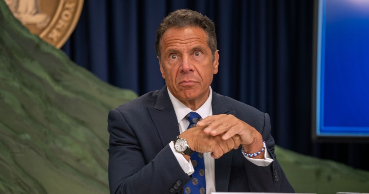 New York Gov. Andrew Cuomo, pictured in a July file photo.