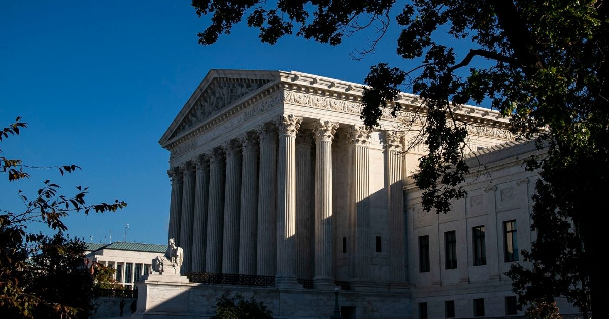 The Supreme Court is seen on Nov. 4, 2020, in Washington, D.C.