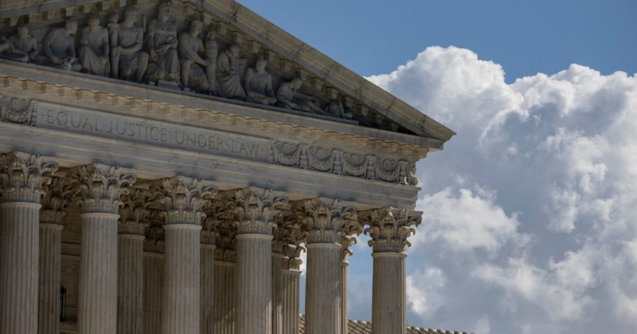 The Supreme Court is seen on Oct. 22, 2020, in Washington, D.C.