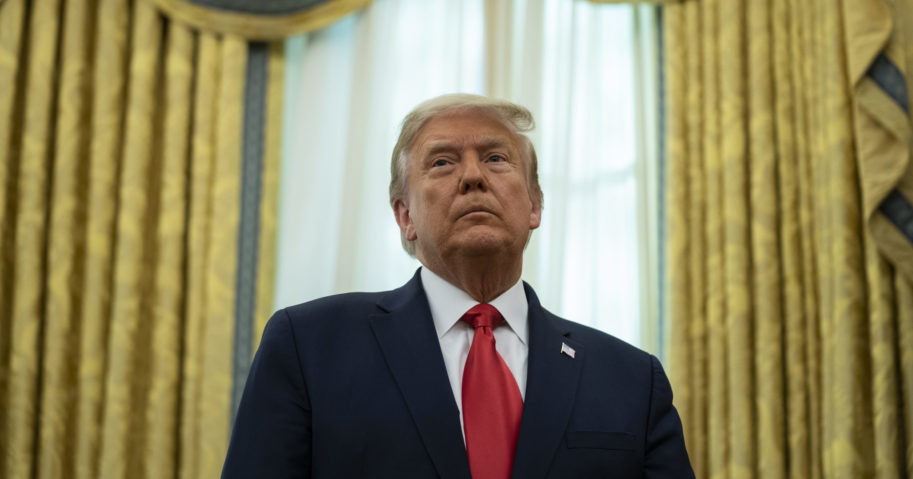 A divided Wisconsin Supreme Court on Dec. 3, 2020, refused to hear President Donald Trump's lawsuit attempting to overturn his loss to Democrat Joe Biden in the battleground state, ruling that the case must first wind its way through lower courts.