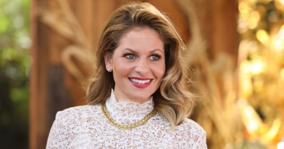 """Actress Candace Cameron Bure visits Hallmark Channel's """"Home & Family"""" at Universal Studios Hollywood on Oct. 21, 2019, in Universal City, California."""