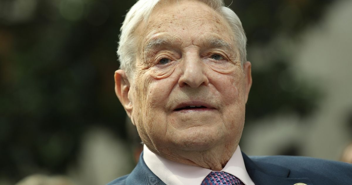 Financier and philanthropist George Soros attends the official opening of the European Roma Institute for Arts and Culture (ERIAC) at the German Foreign Ministry on June 8, 2017, in Berlin.
