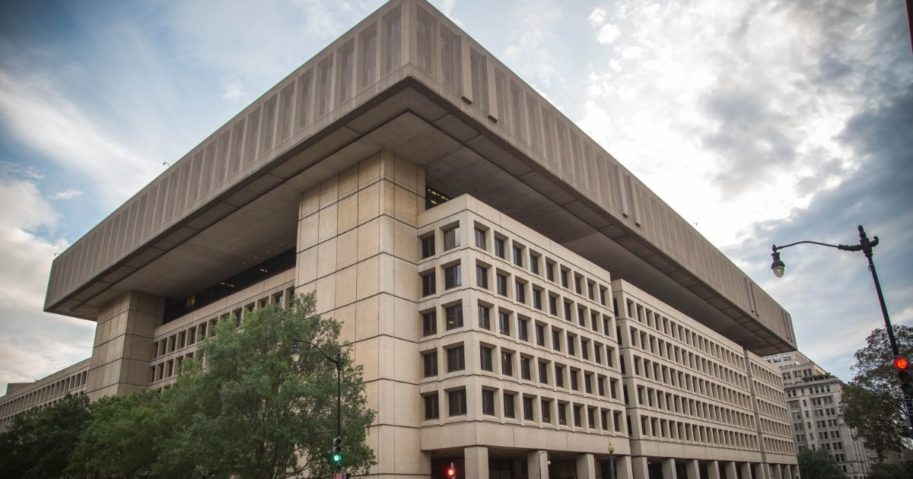 The J. Edgar Hoover Building in Washington, D.C., is pictured above.