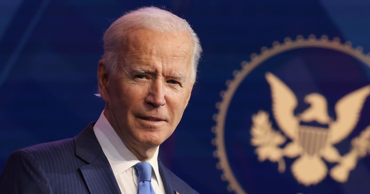 Presumptive president-elect Joe Biden speaks during an event to announce new Cabinet nominations at the Queen Theatre on Friday in Wilmington, Delaware.