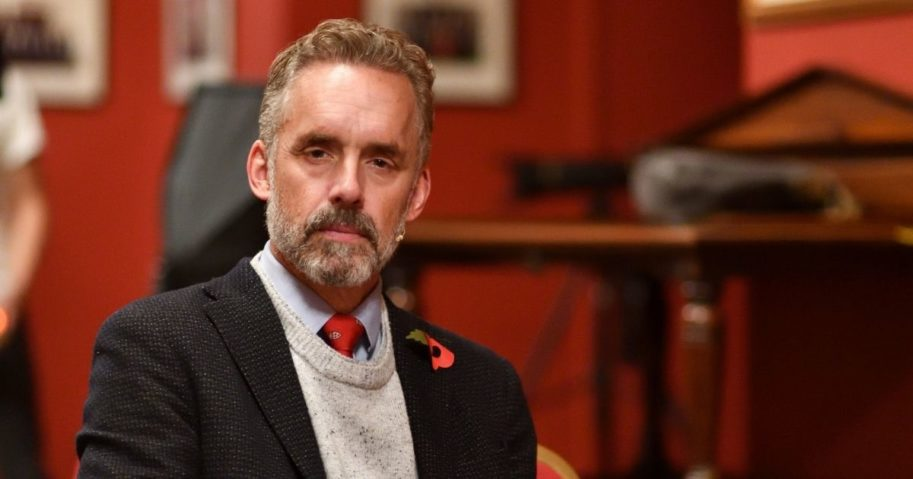 Psychologist and author Jordan Peterson is pictured at The Cambridge Union on Nov. 2, 2018, in Cambridge, England.