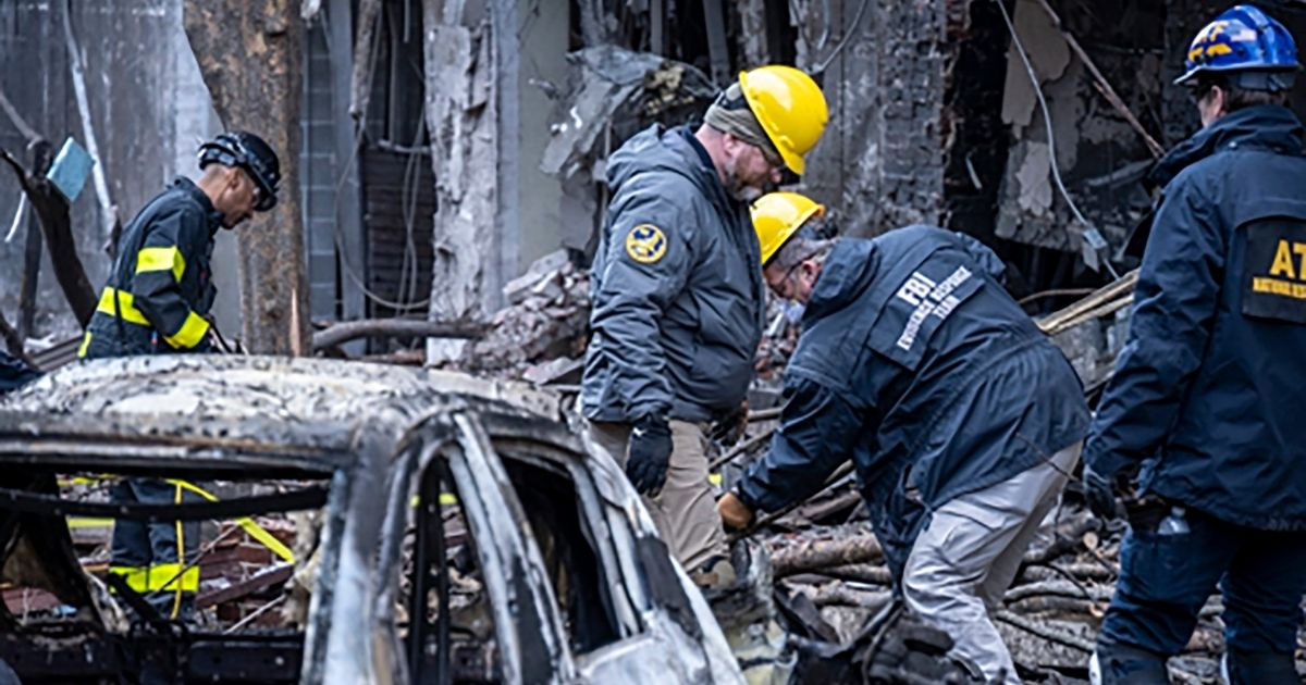 ATF teams investigating Nashville bombing site