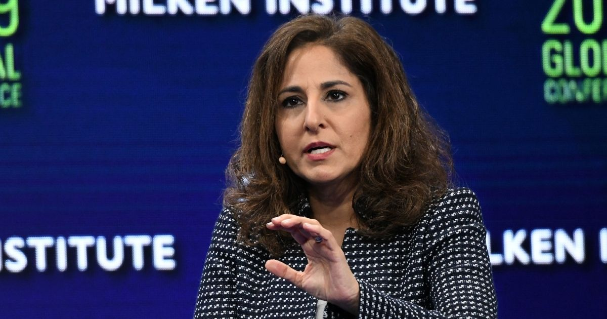 Neera Tanden, the likely nominee for director of the Office of Management and Budget under a potentialJoe Biden administration, is pictured in a 2019 file photo.