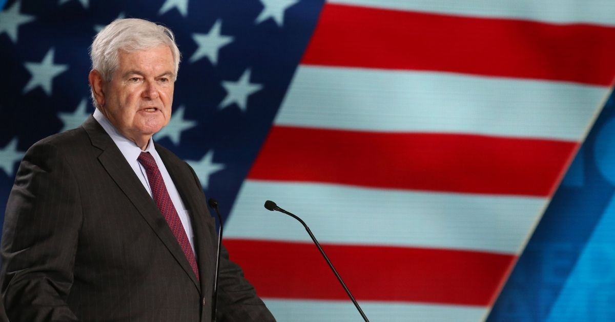 Former House Speaker Newt Gingrich, pictured in a 2018 file photo.