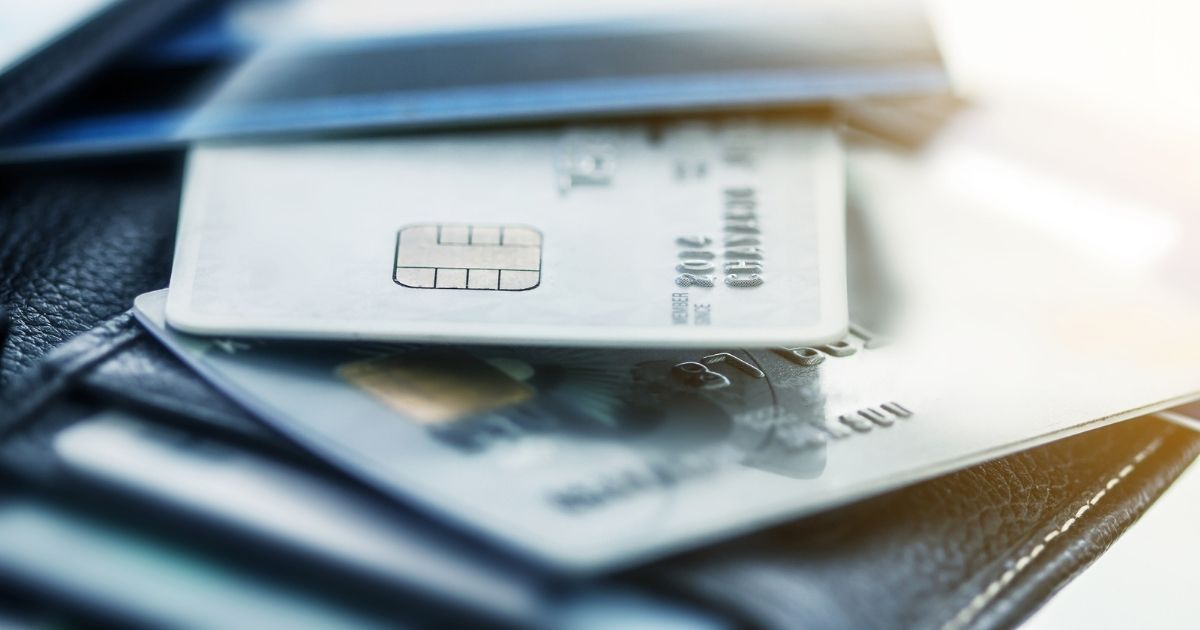 Pictured is a stock photo of credit cards. Industry giants Visa and Mastercard are opening investigations into their business relationship with Pornhub.