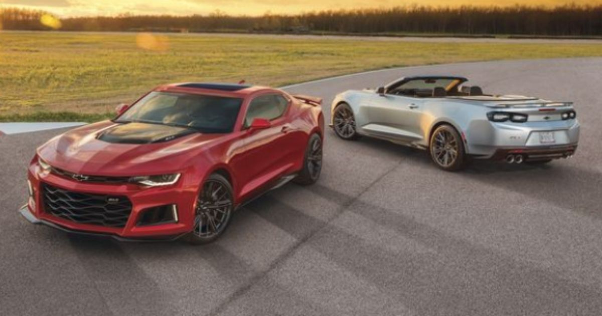 The ban on ordering some 2021 Camaros isn't sitting well with many Twitter users.