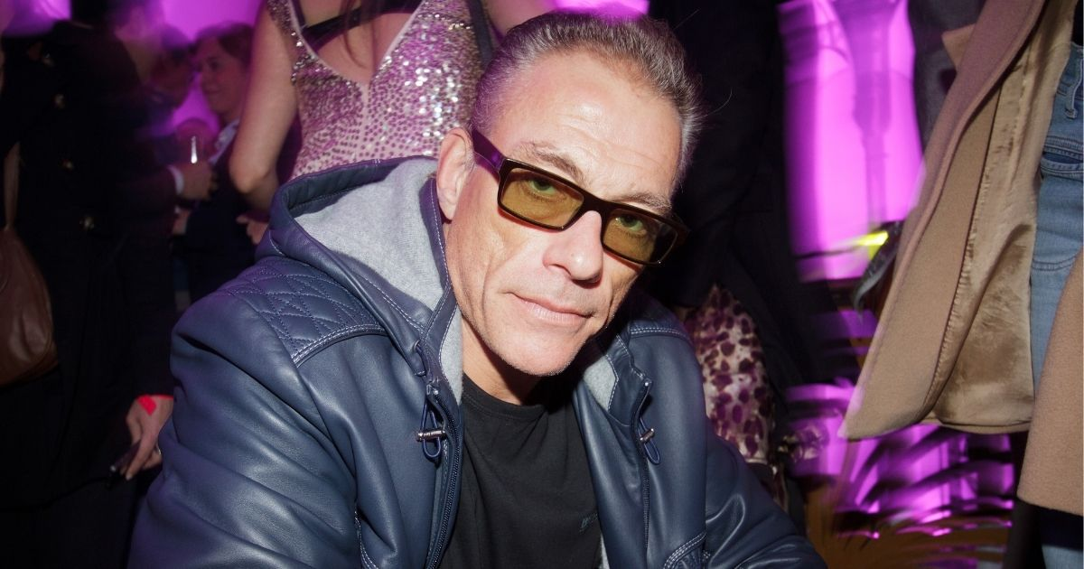 Jean-Claude Van Damme attends the Radio FG 20th Anniversary Celebration at Le Grand Palais on April 5, 2012, in Paris, France.