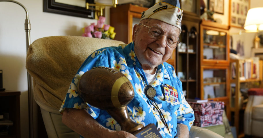 Seventy-nine years after the attack on Pearl Harbor, lockdown measures are preventing survivors from attending an annual ceremony remembering those killed on Dec. 7, 1941.
