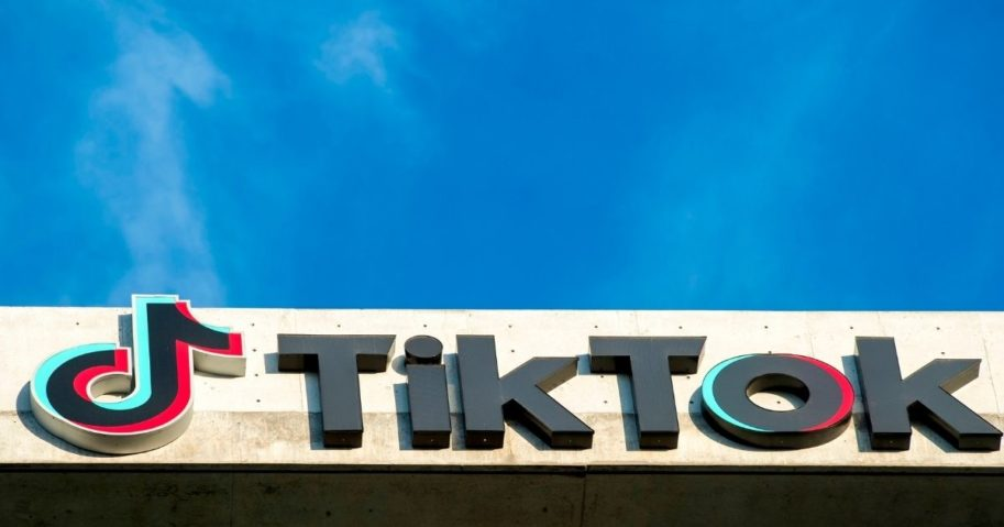 The TikTok building is seen in Culver City, California, on Nov. 17, 2020.