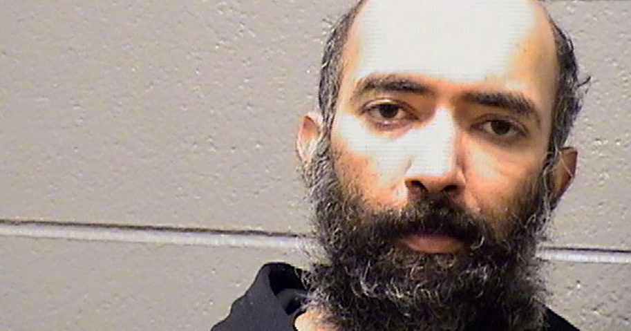 This Jan. 16, 2021, booking photo provided by the Cook County Sheriff's Office shows Aditya Singh.