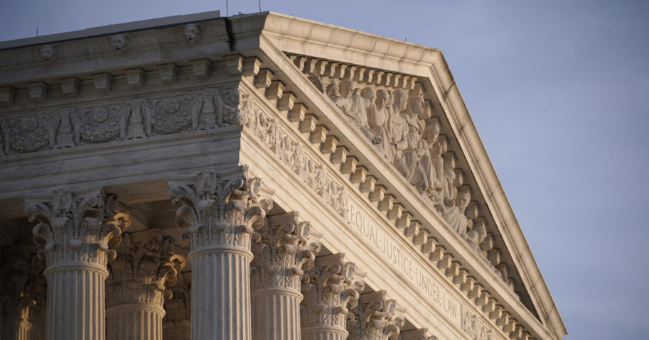 The Supreme Court is seen in Washington, D.C., on Nov. 5, 2020.