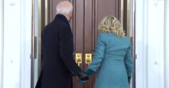 President Joe Biden and first lady Jill Biden were awkwardly left out of the White House Wednesday.
