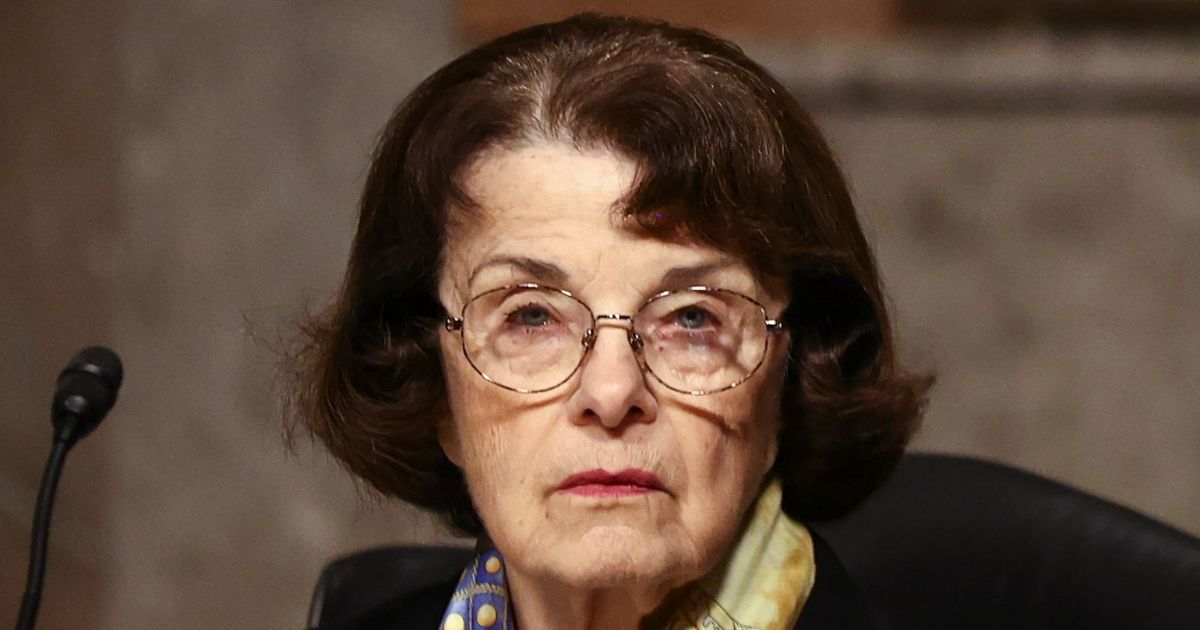 Democratic U.S. Sen. Dianne Feinstein of California attends a Senate Judiciary Committee hearing on Capitol Hill on Nov. 17, 2020. Dianne Feinstein Elementary School in San Francisco will be renamed in part because Feinstein was against same-sex partnership.
