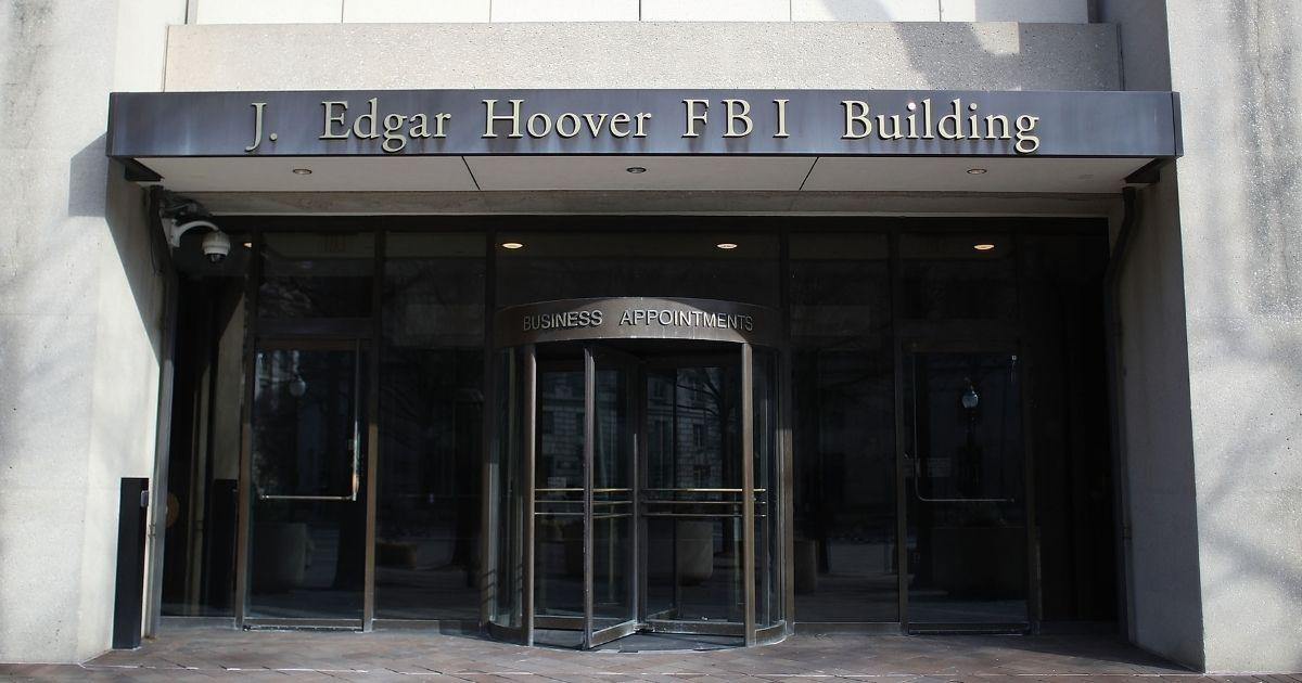 The FBI headquarters in Washington is seen Feb. 2, 2018.
