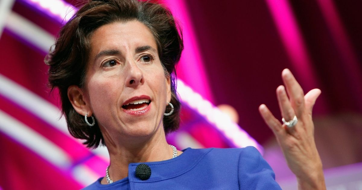 Governor of Rhode Island Gina Raimondo speaks onstage during Fortune's Most Powerful Women Summit - Day 2 at the Mandarin Oriental Hotel on October 13, 2015, in Washington, D.C.