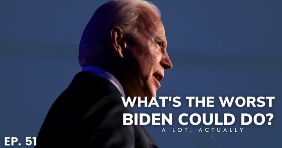 With Democratic control in the House and the Senate, many conservatives are concerned about the progressive policies President Joe Biden may pass.