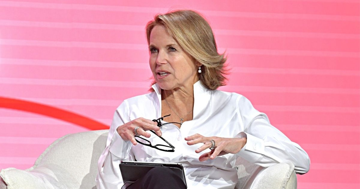 Katie Couric speaks onstage during the 2020 Makers Conference on Feb. 11, 2020, in Los Angeles.
