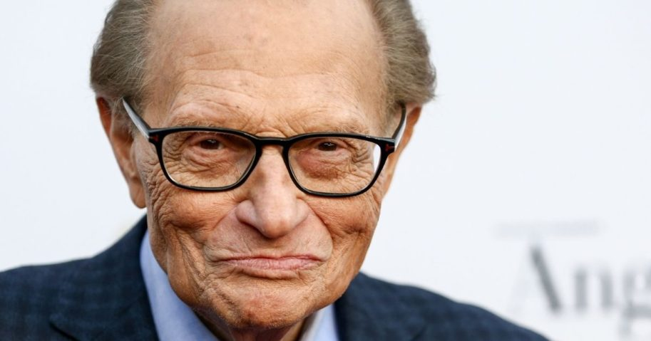 Television and radio host Larry King attends Larry King's 60th Broadcasting Anniversary Event at HYDE Sunset: Kitchen + Cocktails on May 1, 2017 in West Hollywood, California.
