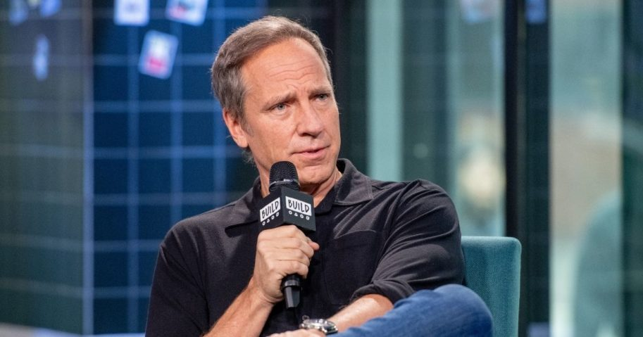"Mike Rowe discusses ""Returning the Favor"" with the Build Series at Build Studio on Feb. 5, 2019, in New York City."