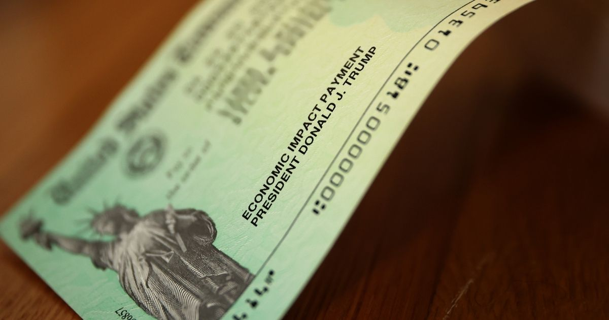 President Donald Trump's name appears on the coronavirus economic assistance checks that were sent to citizens across the country April 29.