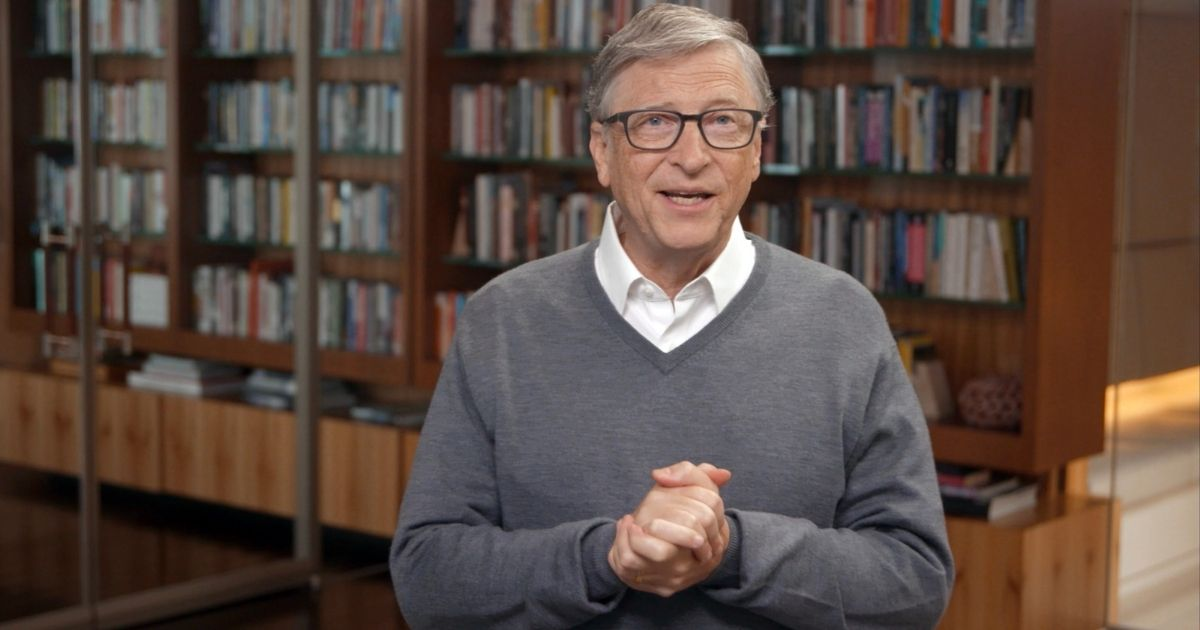 In this screen shot, Bill Gates speaks during 'All In WA: A Concert For COVID-19 Relief' in Washington on June 24, 2020. Gates owns about 16,000 acres of farmland in the state. (Getty Images for All In WA)
