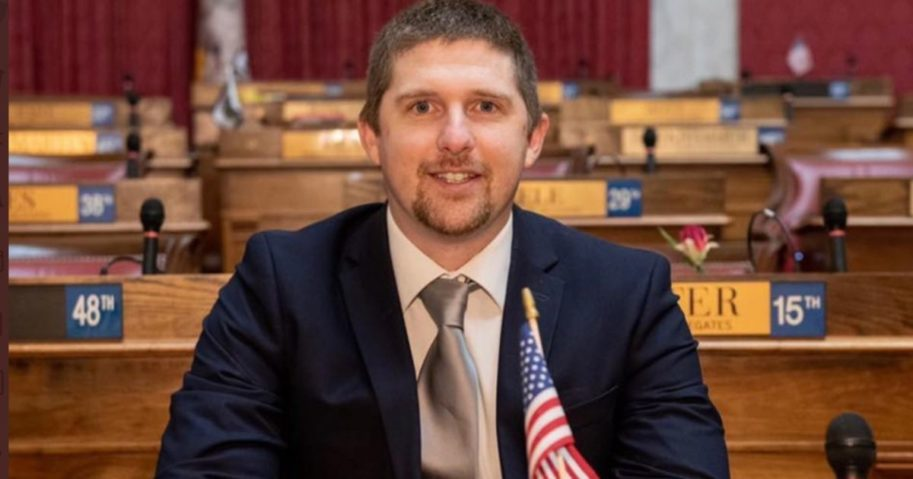 West Virginia state lawmaker Derrick Evans has been charged with entering a restricted area of the U.S. Capitol after he livestreamed himself with rioters, the Justice Department announced on Jan. 8, 2020.