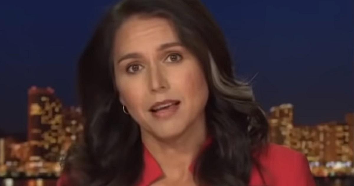 "Former Hawaii Rep. Tulsi Gabbard appears Tuesday night on Fox News' ""Tucker Carlson Tonight."""