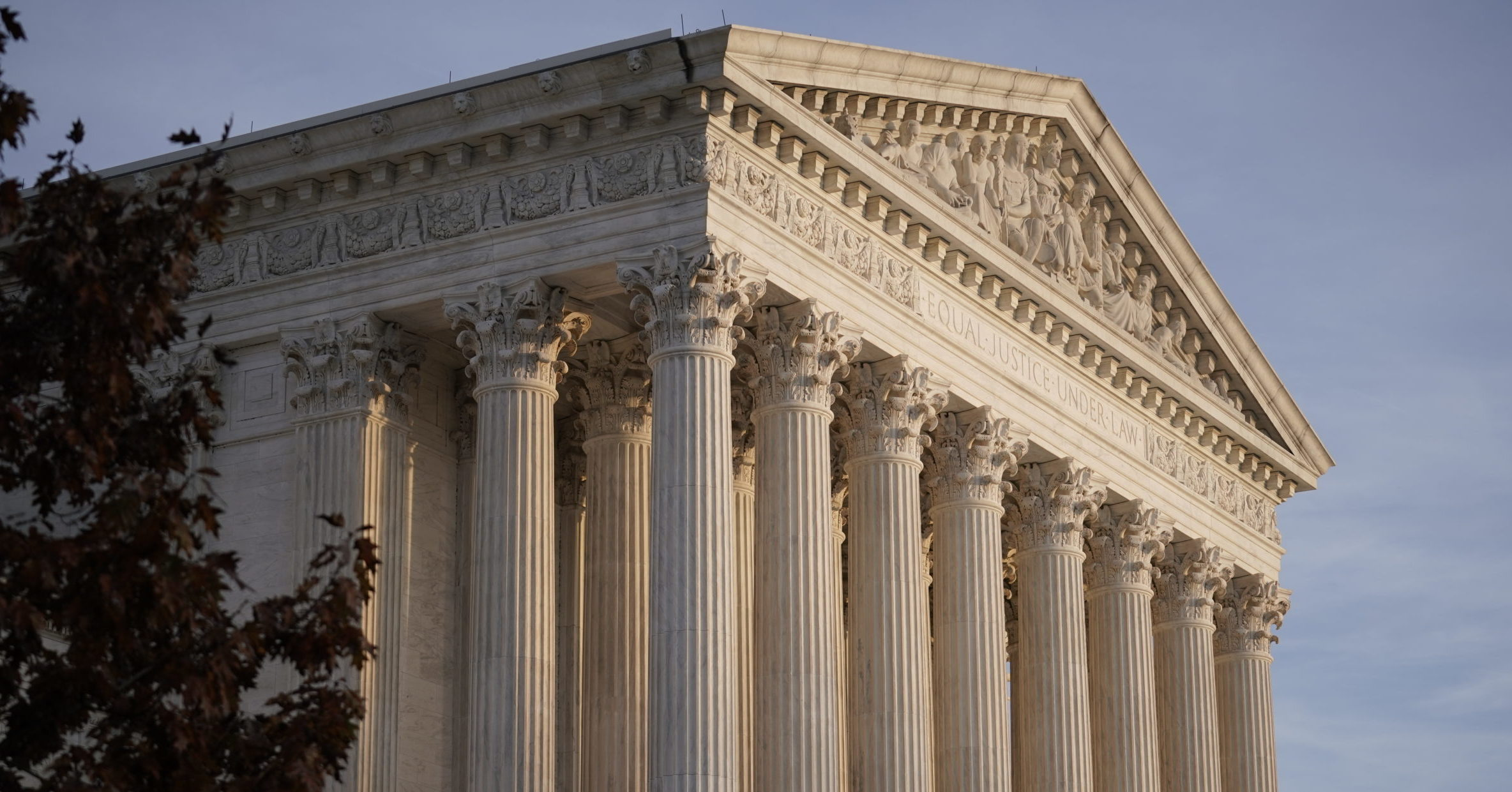 The Supreme Court is pictured in Washington, D.C.