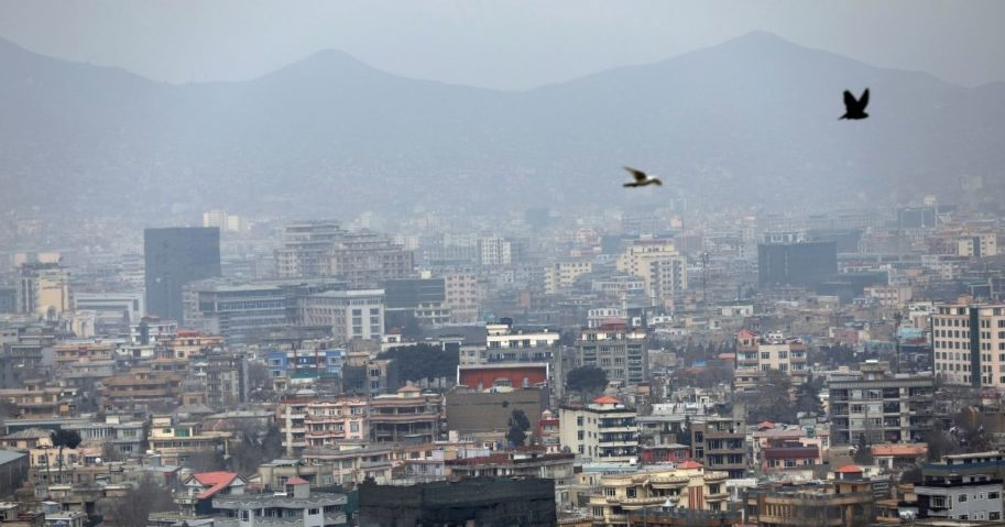 In this Feb. 1 file photo, birds flyover the city of Kabul, Afghanistan. The United States wasted billions of dollars in war-torn Afghanistan on buildings and vehicles that were either abandoned or destroyed, according to a report released Monday by the Special Inspector General for Afghanistan Reconstruction, a U.S. government watchdog.