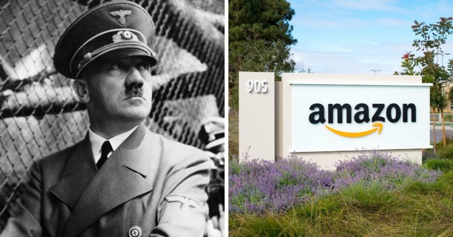 """Amazon removed a book that showed a different perspective of the """"trans phenomenon,"""" but keeps Adolf Hitler's Mein Kampf on their site"""