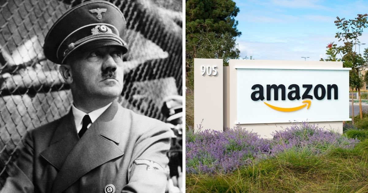 "Amazon removed a book that showed a different perspective of the ""trans phenomenon,"" but keeps Adolf Hitler's Mein Kampf on their site"