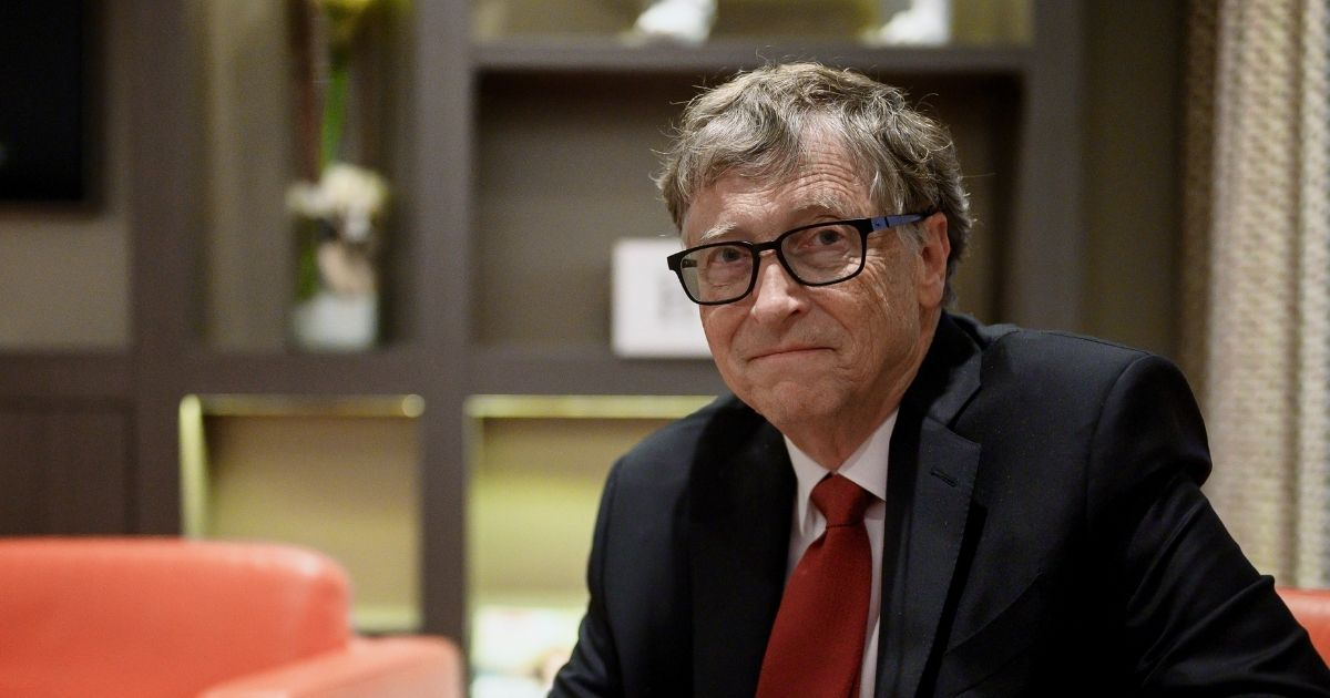Microsoft co-founder Bill Gates poses for a picture on Oct. 9, 2019, in Lyon, France.