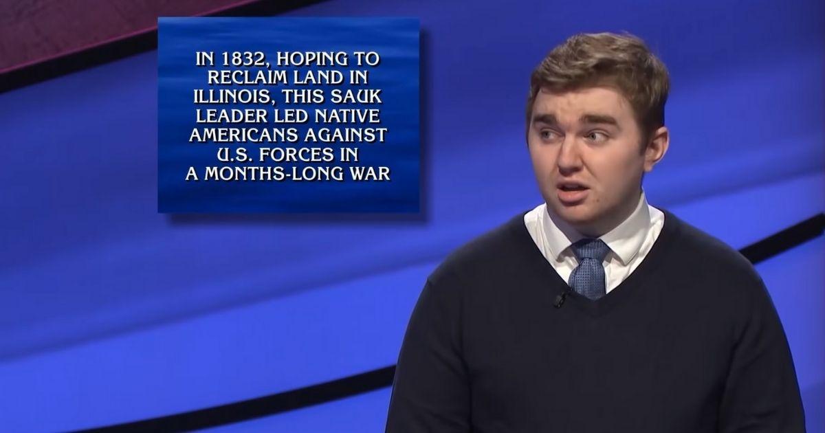 "Brayden Smith had a five-game winning streak on ""Jeopardy!"""