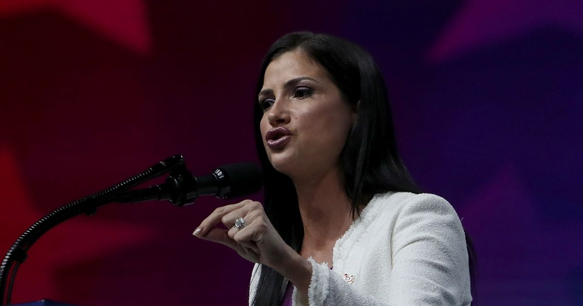 Dana Loesch speaks at the NRA-ILA Leadership Forum during the NRA Annual Meeting & Exhibits at the Kay Bailey Hutchison Convention Center on May 4, 2018, in Dallas, Texas.