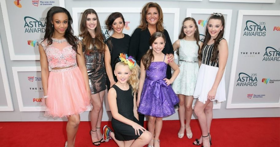 "Abby Lee Miller and the cast of ""Dance Moms"" arrive at the ASTRA Awards at the Star in Sydney, Australia, on March 12, 2015."