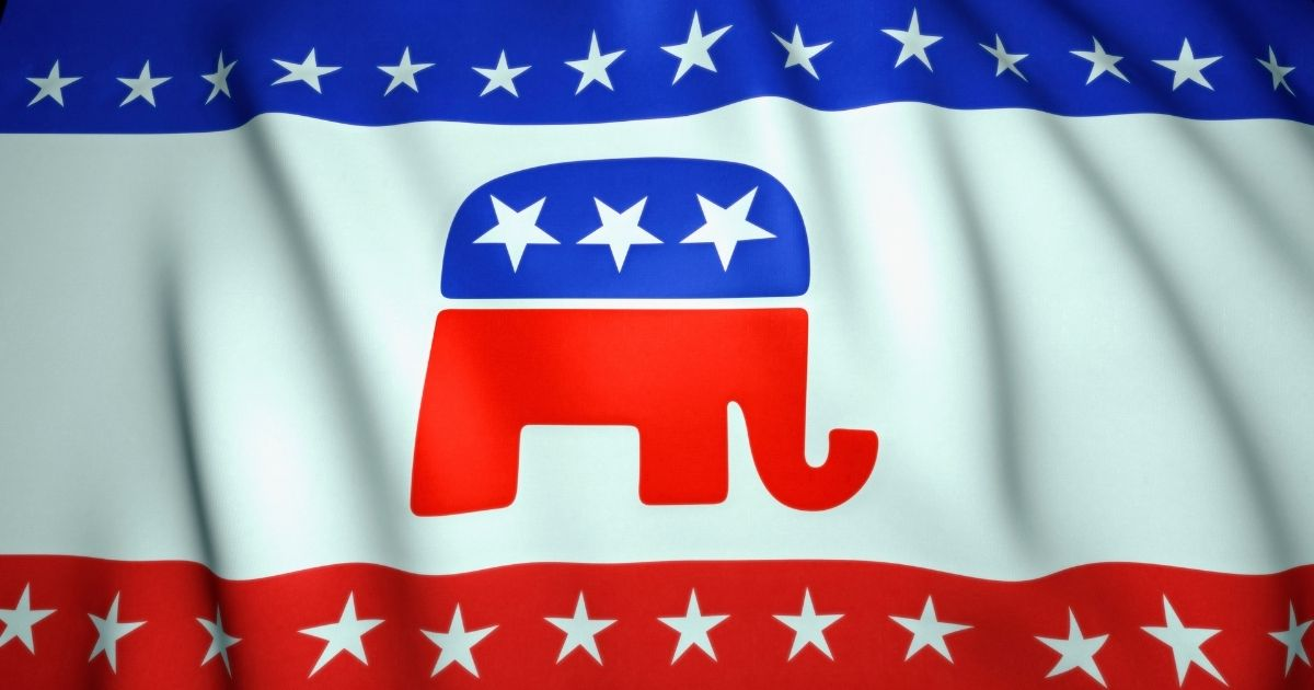 The elephant symbol of the Republican Party is pictured in the stock image above.