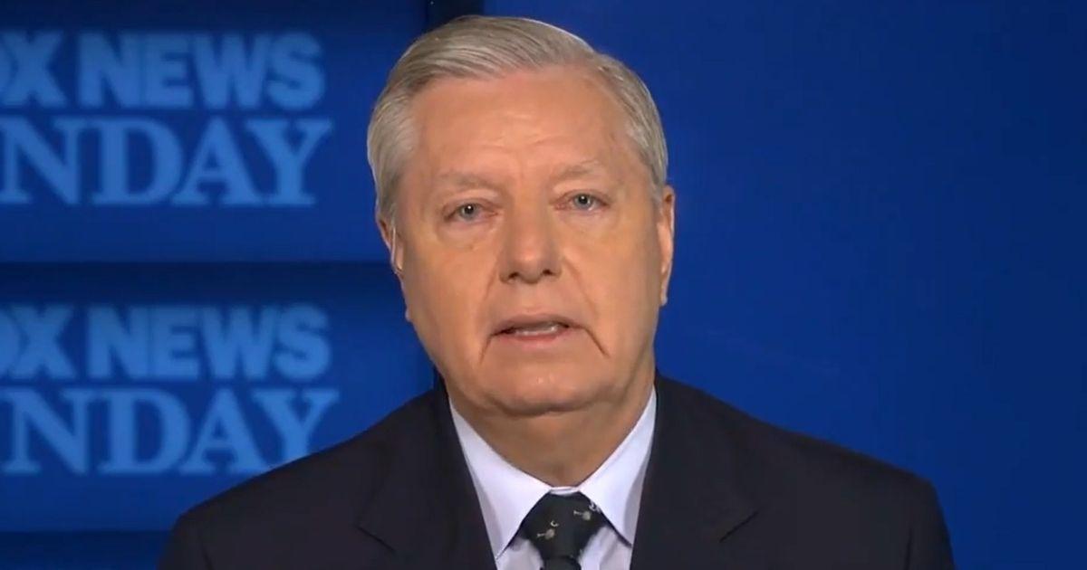 "Sen. Lindsey Graham of South Carolina appears on ""Fox News Sunday."""