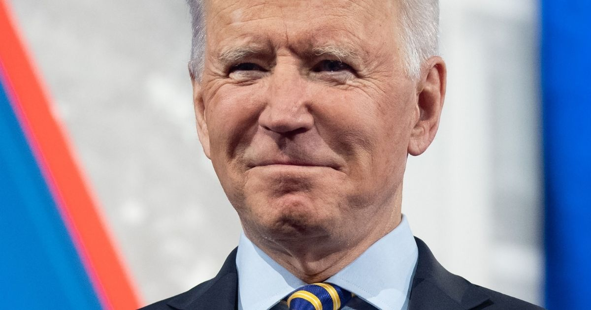 President Joe Biden participates in a CNN town hall at the Pabst Theater in Milwaukee on Tuesday.