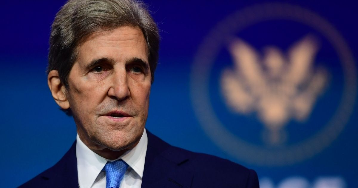 Biden administration climate czar John Kerry speaks after being introduced by then-President-elect Joe Biden as he introduces key foreign policy and national security nominees and appointments at The Queen theater on Nov. 24, 2020, in Wilmington, Delaware.