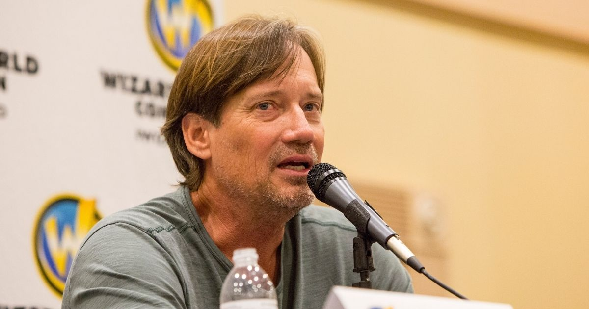Actor Kevin Sorbo speaks during the Wizard World Chicago Comic-Con at Donald E. Stephens Convention Center on Aug. 27, 2017, in Rosemont, Illinois.
