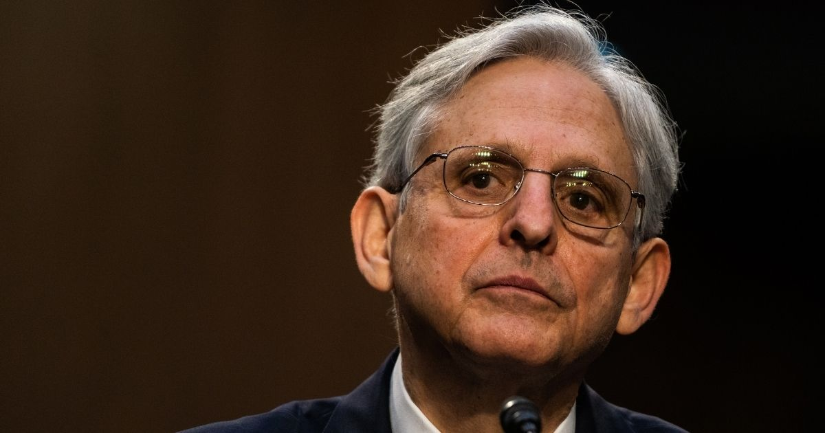 Attorney general nominee Merrick Garland speaks during his confirmation hearing before the Senate Judiciary Committee on Capitol Hill in Washington, D.C., on Monday.