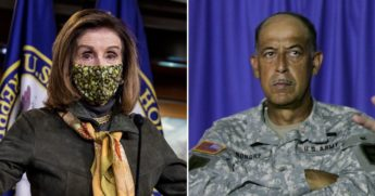 House Speaker Nancy Pelosi, left, has selected retired Lt. Gen. Russel Honore, right, to come up with a plan to address security issues that were highlighted during the Jan. 6 incursion into the Capitol.