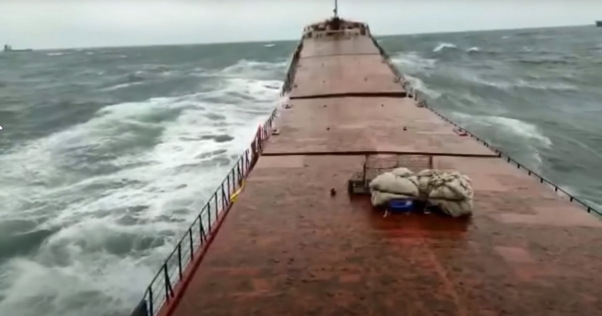 Heavy waves crash into the MV Arvin in the Black Sea, snapping the 46-year-old Turkish freighter in two. Half of the 12-man crew were rescued; the other half were either recovered deceased or are still missing.