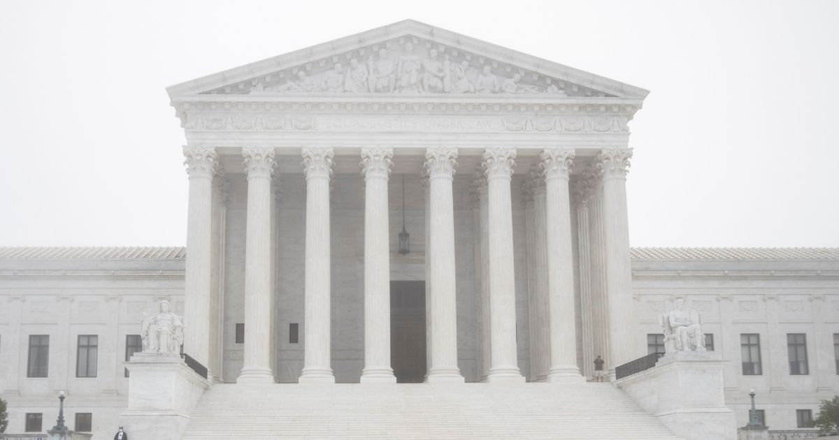 The Supreme Court is pictured on Oct. 22, 2020, in Washington, D.C.