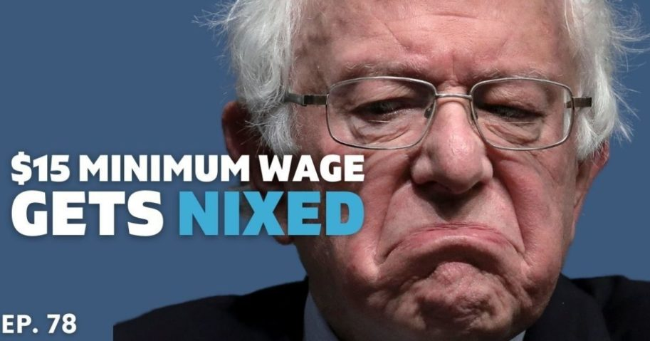The Senate parliamentarian ruled against the minimum wage boost included in the $1.9 trillion coronavirus relief bill, arguing that it goes against the body's budget rules. Will the Dems shoot for a lower amount or completely oust it?